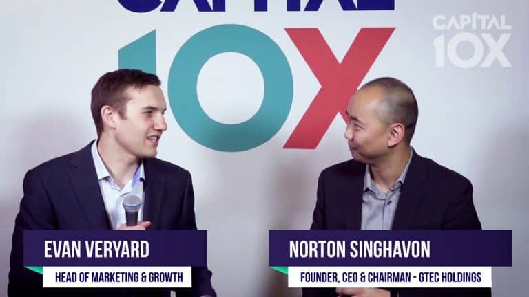 Benzinga Interview with Norton Singhavon Founder and CEO of GTEC Holdings