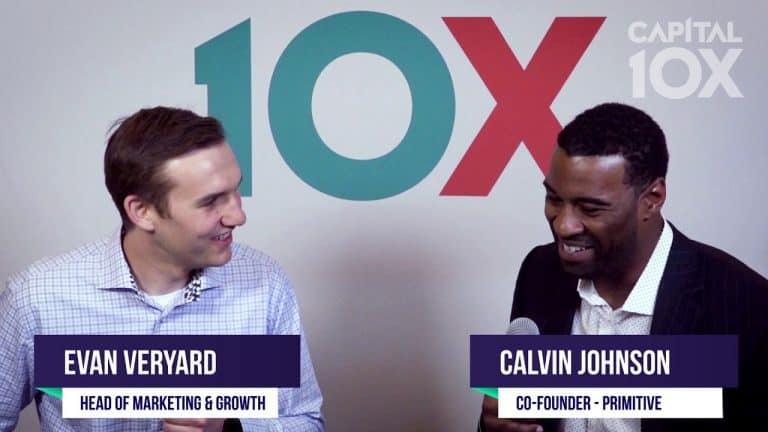 Benzinga Interview with Calvin Johnson Co-Founder of Primitive