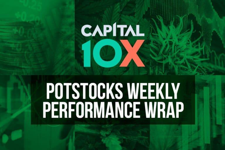 Capital 10X – Pot Stocks Weekly Performance Wrap (September 27th, 2019)
