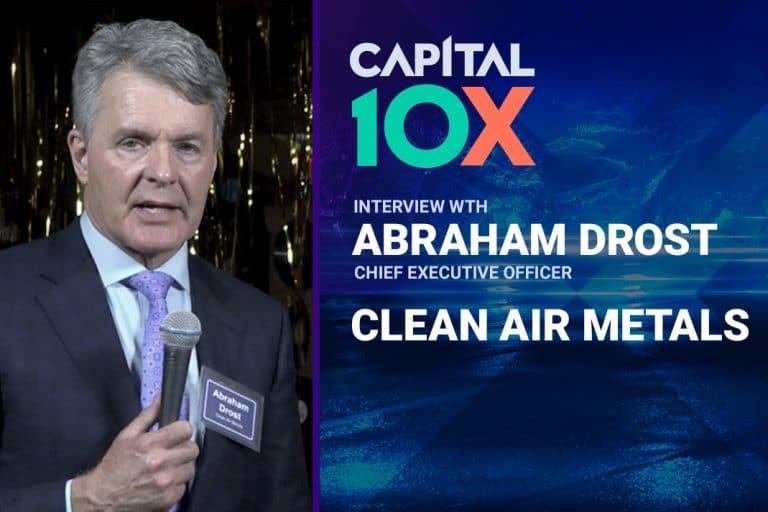 Metals X Money: Interview with Clean Air Metals