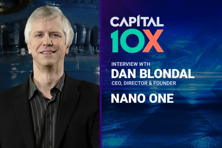 Metals X Money: Interview with NanoOne Materials Corp